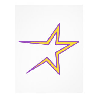 Open Ended Star Letterhead