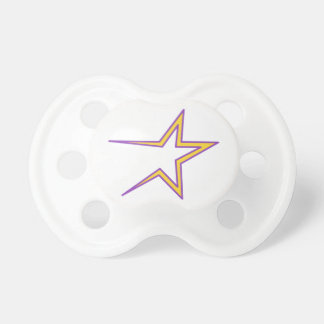 Open Ended Star Pacifier