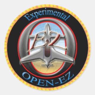 Open-EZ Classic Round Sticker