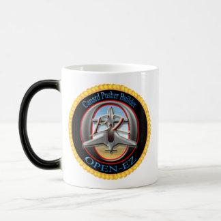 Open-Ez 11 Oz Magic Heat Color-Changing Coffee Mug