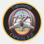 Open-EZ Round Stickers