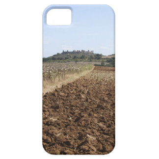 Open Field, Townscape in the Background, iPhone 5 Cases
