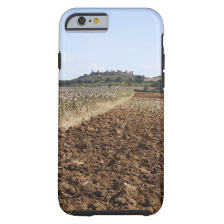 Open Field, Townscape in the Background, Tough iPhone 6 Case