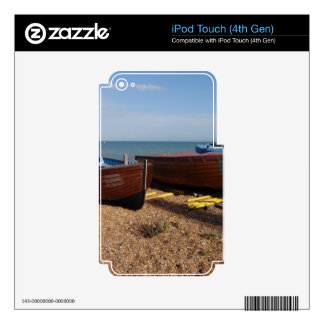 Open Fishing Boats iPod Touch 4G Skins