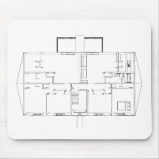 Open Floorplan Drawing: Mouse Pad