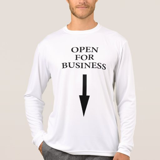Open For Business Tees