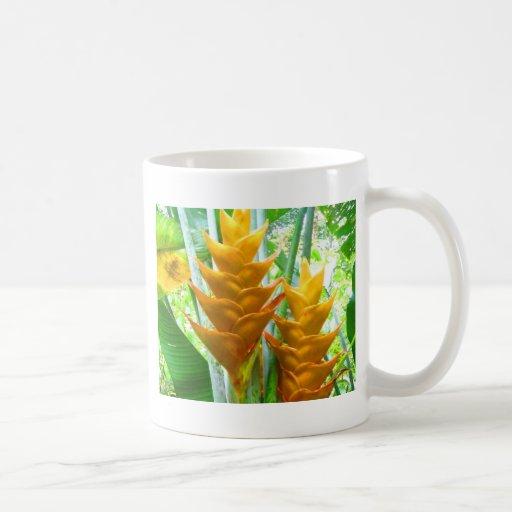 Open for love caribbean Flower Mugs