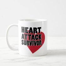 Open Heart Surgery Survivor Coffee Mug Bypass