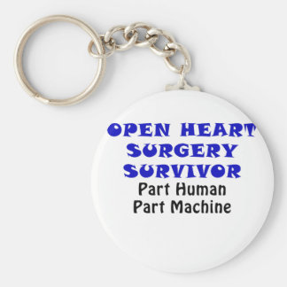 Open Heart Surgery Survivor Part Human Keychain