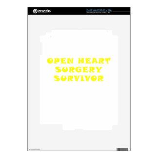 Open Heart Surgery Survivor Skin For The iPad 2