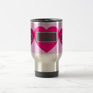 open heart travel mug