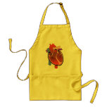 Open Hearted Adult Apron