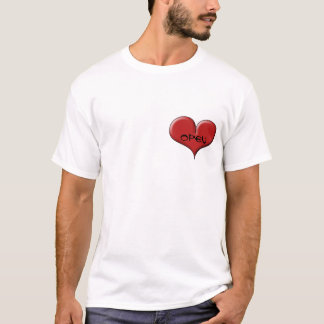 Open Hearted: by Sonja A.S. T-Shirt
