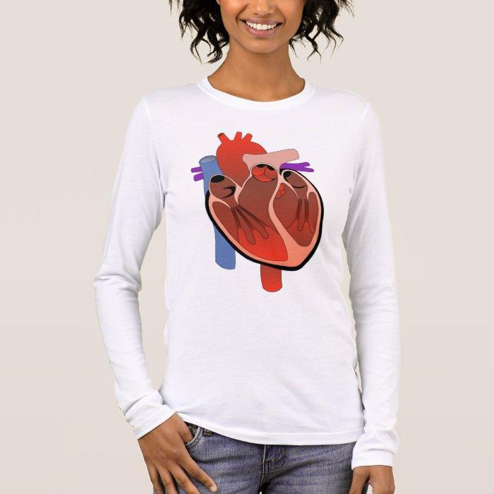 Open Hearted Long Sleeve T-Shirt