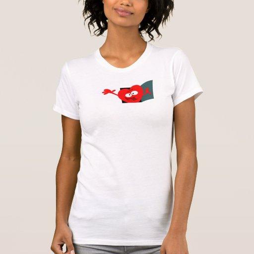Open Hearted! Tee Shirt