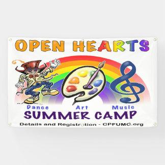 Open Hearts Summer Camp Banner