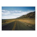 Open Highway- Death Valley Card