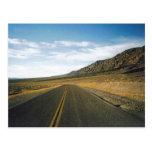 Open Highway- Death Valley Postcard