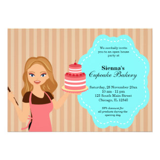 Open House Bakery business Cards