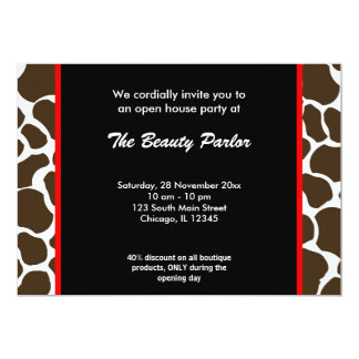 Boutique open house invitations announcements zazzle open house boutique celebration card stopboris Gallery