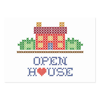 Open House Business Card