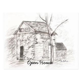 Open House Cards Postcard