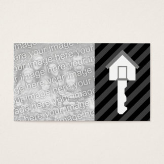OPEN HOUSE home key Business Card