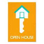 open house housekey custom invite