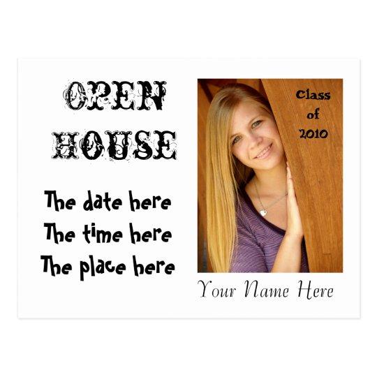 Open House Invitation - you design it - Customized Postcard