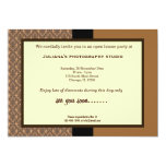 Open House New Business 5x7 Paper Invitation Card
