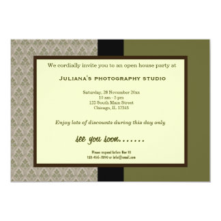 Open House New Business Card