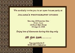 business open house invitations zazzle