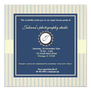 open house business invitations