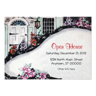 Open House or Housewarming Invitation
