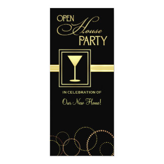 Open House Party Invitations
