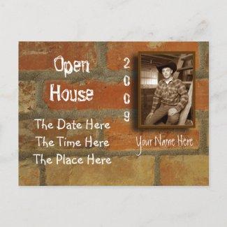 open house postcard postcard
