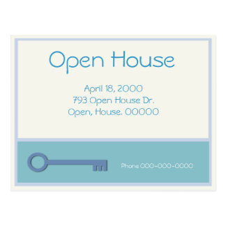 Open House Post Cards