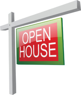 open house cards zazzle