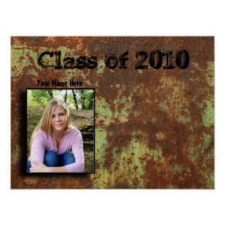 Zazzle Graduation Sign in Poster