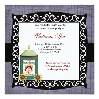 Open House Spa Business Card