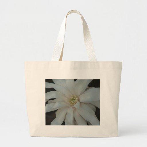 Open Magnolia Centennial Bloom Jumbo Tote Bag