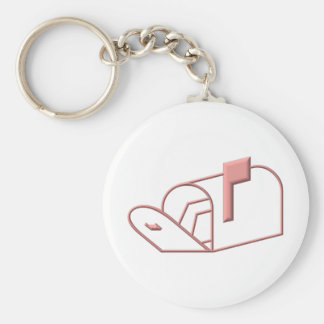 Open Mailbox Key Chains