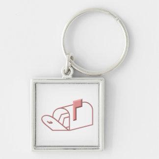 Open Mailbox Keychains