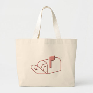 Open Mailbox Large Tote Bag