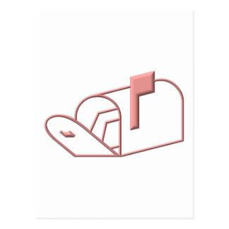 Open Mailbox Postcard