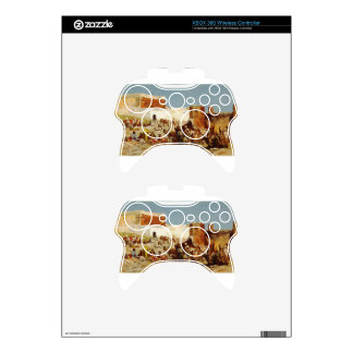 Open Market, Morocco by Edwin Lord Weeks Xbox 360 Controller Decal