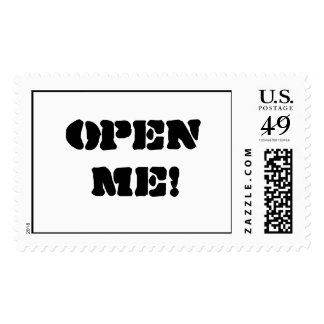Open Me! Stamp