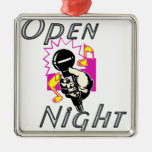 Open Mic Night Christmas Tree Ornaments