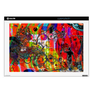 Open microphone Non Stop Music Laptop Skins