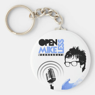 Open Mikeless Keychain